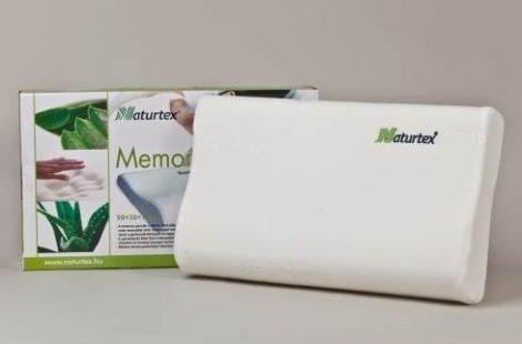 Naturtex Memory Aloe-Vera Classic párna 50x30x10/7 cm - OGYÉI/17781-5/2016