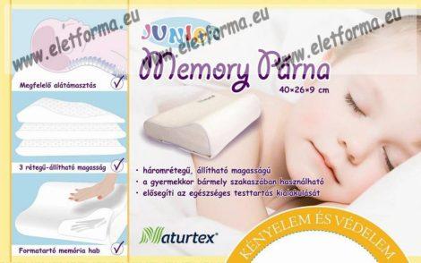 Naturtex Memory Junior párna 40x26x8,8/6 cm - OGYÉI/17781-4/2016