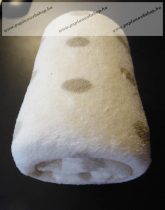 Baby plüss pléd, csillagmintás, 75x100 cm - Naturtex