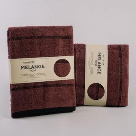 Naturtex Melange törölközö, Rose, 70x140 cm (550 g/m2)
