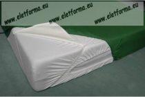 60x120 cm Frottír-PVC vízzáró matracvédő babaágyra