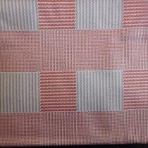 Billerbeck Bianka Piros kockás pamut (maco-satin) kispárnahuzat, 36x48 cm