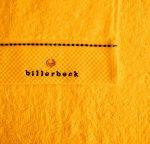 Billerbeck Sáfrány sárga törölköző, 50x100 cm - Billerbeck