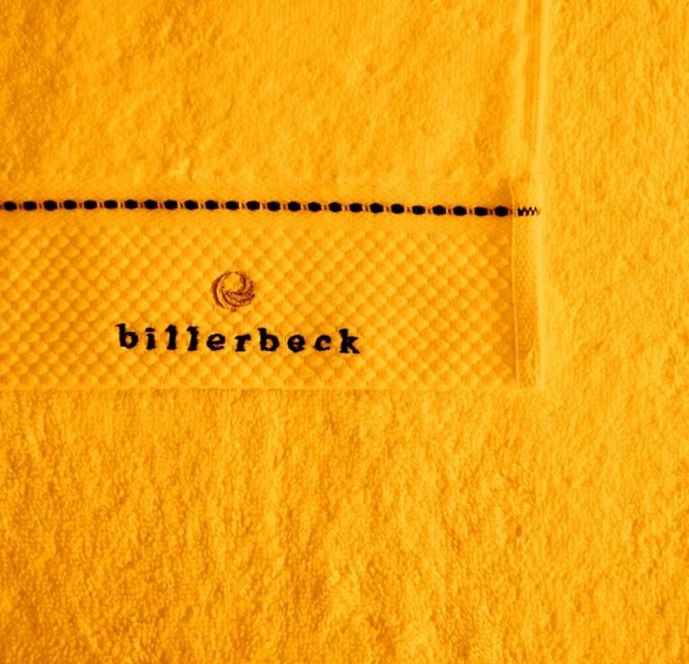 Billerbeck Sáfrány sárga törölköző c6bc410419