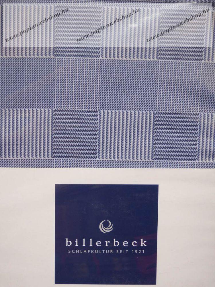 Billerbeck Bianka Kék kockás pamut-szatén ágyneműhuzat a2d17eea44