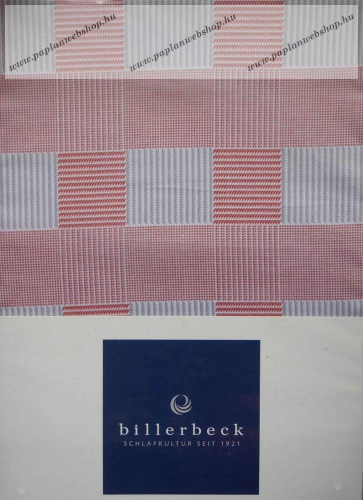 Billerbeck Bianka Piros kockás pamut-szatén ágyneműhuzat 46b14bafd8