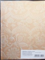 Billerbeck Jacquard sárga pamut (maco-satin) félpárnahuzat, 50x70 cm