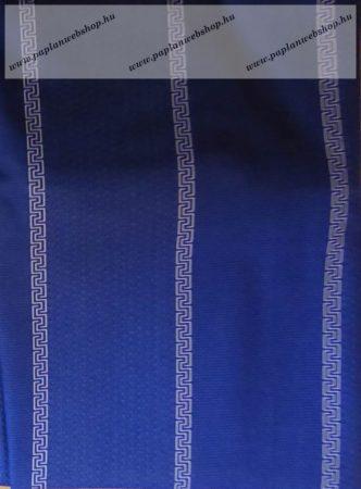 Billerbeck Bianka Kék pamut (maco-satin) félpárnahuzat, 50x70 cm