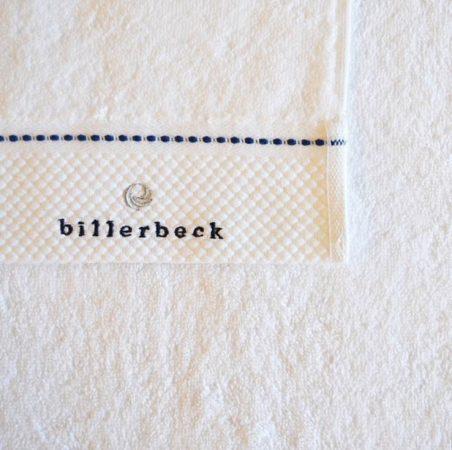 Billerbeck Fehér rizskötésű törölköző, 70x140 cm - Billerbeck