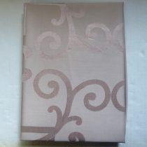 Billerbeck Bianka Jacquard, mályva pamut (maco-satin) félpárnahuzat, 50x70 cm