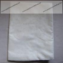 Billerbeck Bianka Törtfehér, hópehelymintás pamut (maco-satin) kispárnahuzat, 36x48 cm