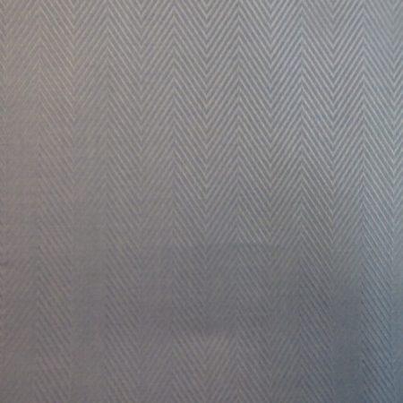 Billerbeck Bianka Fehér, halszálka mintás pamut (maco-satin) kispárnahuzat, 36x48 cm