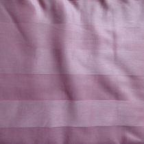 Billerbeck Bianka Csíkos, rózsaszín pamut (maco-satin) kispárnahuzat, 36x48 cm