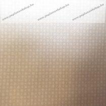 Billerbeck Bianka Szürke-bézs aprókockás pamut (maco-satin) kispárnahuzat, 36x48 cm