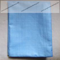 Billerbeck Bianka Kék szálas pamut (maco-satin) kispárnahuzat, 36x48 cm