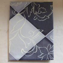 Billerbeck Bianka Indás pamut (maco-satin) félpárnahuzat, 50x70 cm