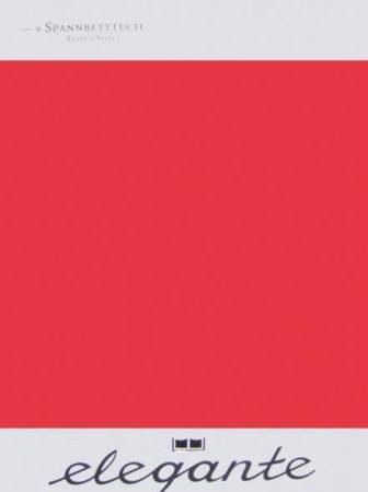 Billerbeck ELEGANTE gumis lepedő, Piros, 90-100x200 cm - Billerbeck