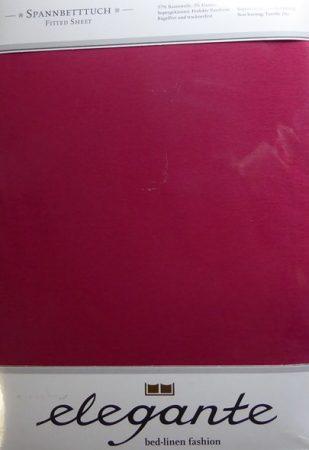 Billerbeck ELEGANTE gumis lepedő, Bordó, 90-100x200 cm - Billerbeck