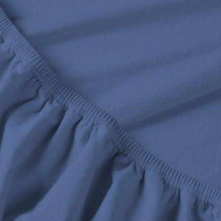 Billerbeck REBEKA elasztános gumis lepedő, Szilvahab, 90-100x200 cm (180 g/nm)