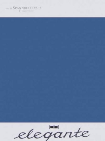 Billerbeck ELEGANTE gumis lepedő, Billerbeck kék, 140-160x200-220 cm