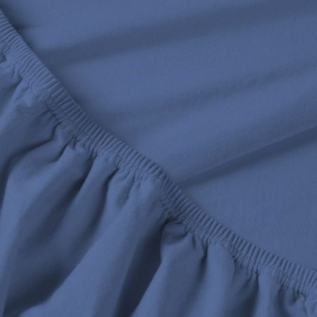 Billerbeck REBEKA elasztános gumis lepedő, Szilvahab, 140-160x200 cm (180 g/nm)