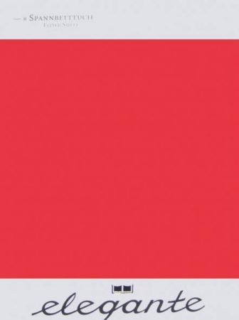 Billerbeck ELEGANTE gumis lepedő, Piros, 180-200x200-220 cm - Billerbeck