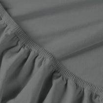 Billerbeck REBEKA elasztános gumis lepedő, bocskorszín, 180-200x200-210 cm (180 g/nm)