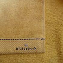 Billerbeck rizskötésű törölköző, Sárga, 50x100 cm - Billerbeck