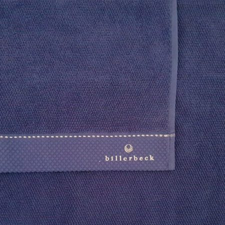 Billerbeck rizskötésű törölköző, Kék, 50x100 cm - Billerbeck