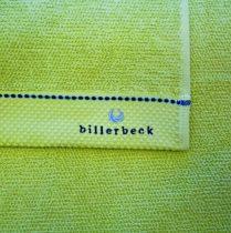 Billerbeck rizskötésű törölköző, Zöld, 50x100 cm - Billerbeck