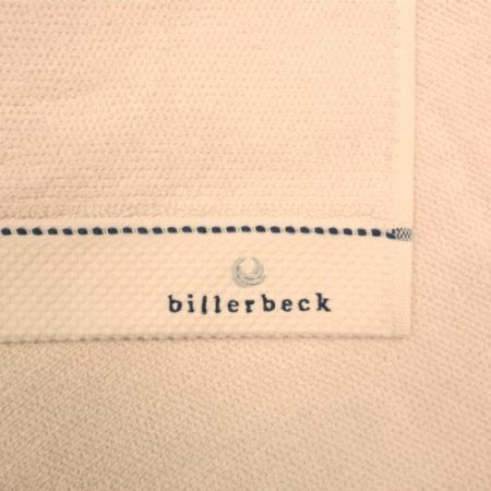 Billerbeck rizskötésű törölköző, Pink-sand, 50x100 cm - Billerbeck