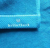 Billerbeck rizskötésű törölköző, Türkiz, 70x140 cm - Billerbeck