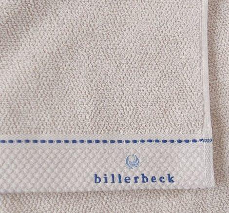 Billerbeck rizskötésű törölköző, Bézs, 70x140 cm - Billerbeck