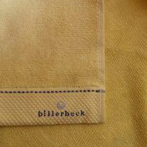 Billerbeck rizskötésű törölköző, Sárga, 70x180 cm - Billerbeck
