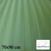 Billerbeck Réka pamut-szatén nagypárnahuzat, Zöld, 70x90 cm