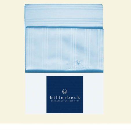 Billerbeck Réka pamut-szatén félpárnahuzat, Kék, 50x70 cm