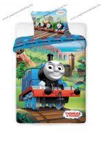 Thomas a gőzmozdony ágyneműhuzat (100% pamut)