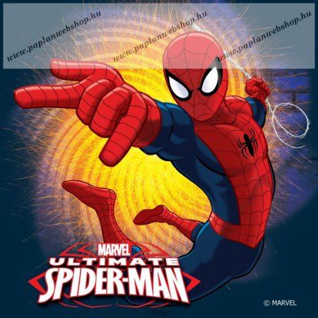 Pókember/Spider-Man díszpárna, 40x40 cm (620)
