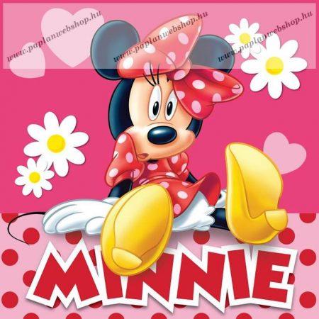 Minnie Egér díszpárna, 40x40 cm
