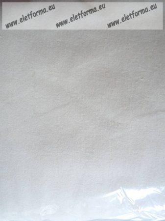 Egyszínű gombos pamut kispárnahuzat, fehér, 40x50 cm