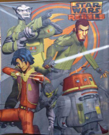 Star Wars Rebels pléd/takaró,  120x150 cm, Grey