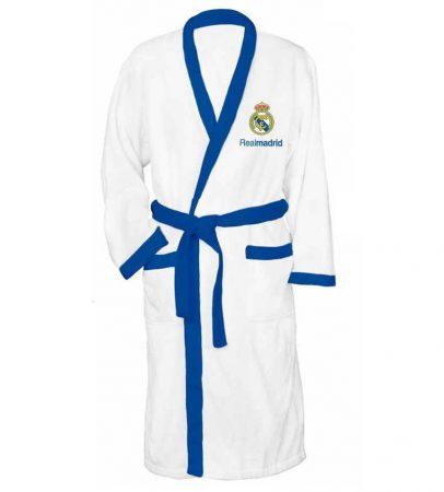 Real Madrid frottír sálgalléros köntös,  (100 % pamut), L