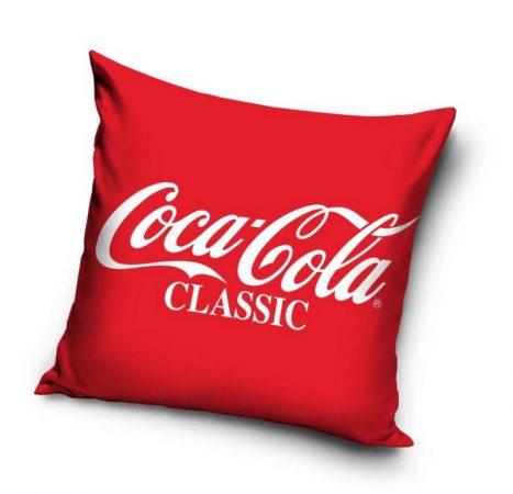 Coca Cola díszpárnahuzat, 40x40 cm