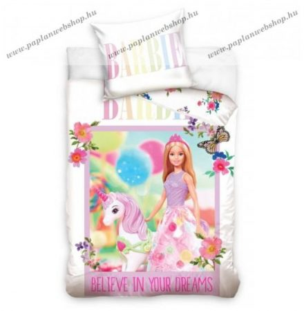 Barbie és Unikornis ovis ágyneműhuzat