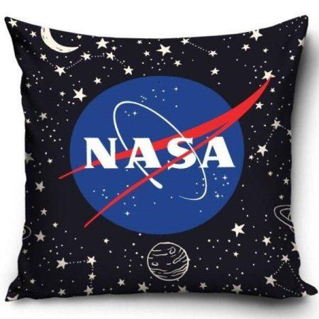 Nasa - csillagok díszpárnahuzat, 40x40 cm (1102)