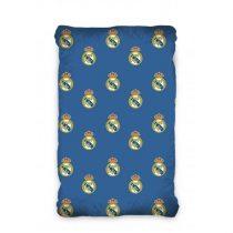 Real Madrid gumis lepedő, 90x200x25cm, Kék (171014)