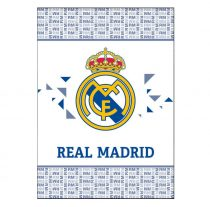 Real Madrid pléd, 110x140 cm, Kék-fehér