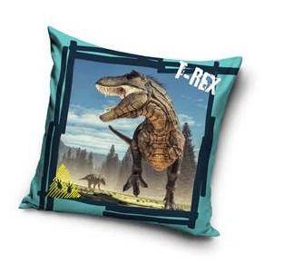 T-Rex díszpárnahuzat, 40x40 cm (3002)
