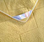 180x200 cm Billerbeck DORIS merino mágneses szőrme gyapjú matracvédő