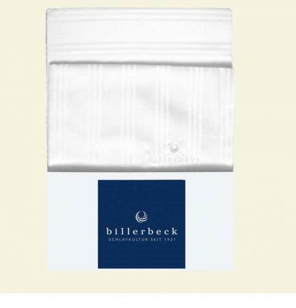 Billerbeck Réka pamut-szatén ágyneműhuzat, Fehér, 3 részes